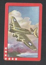 Collectable vintage A patriotic deck of world war 2 American fighter plane